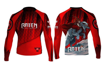 The Red Rashguard (Junior)
