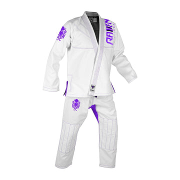 BJJ Horror Cthulhu - White - Raven Fightwear - US