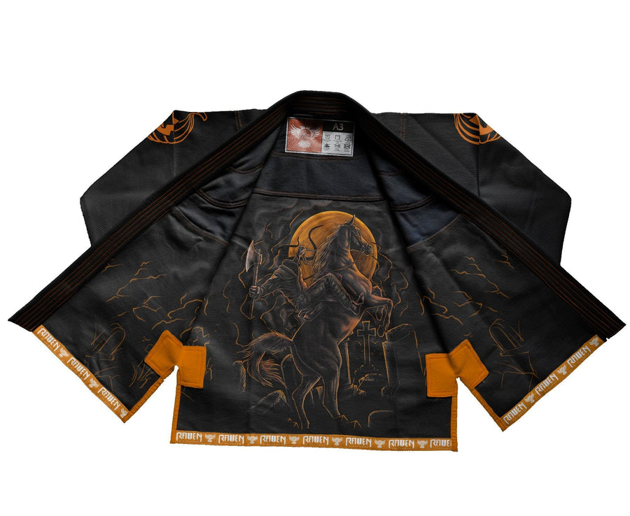 BJJ Horror Headless Horseman - Black - Raven Fightwear - US