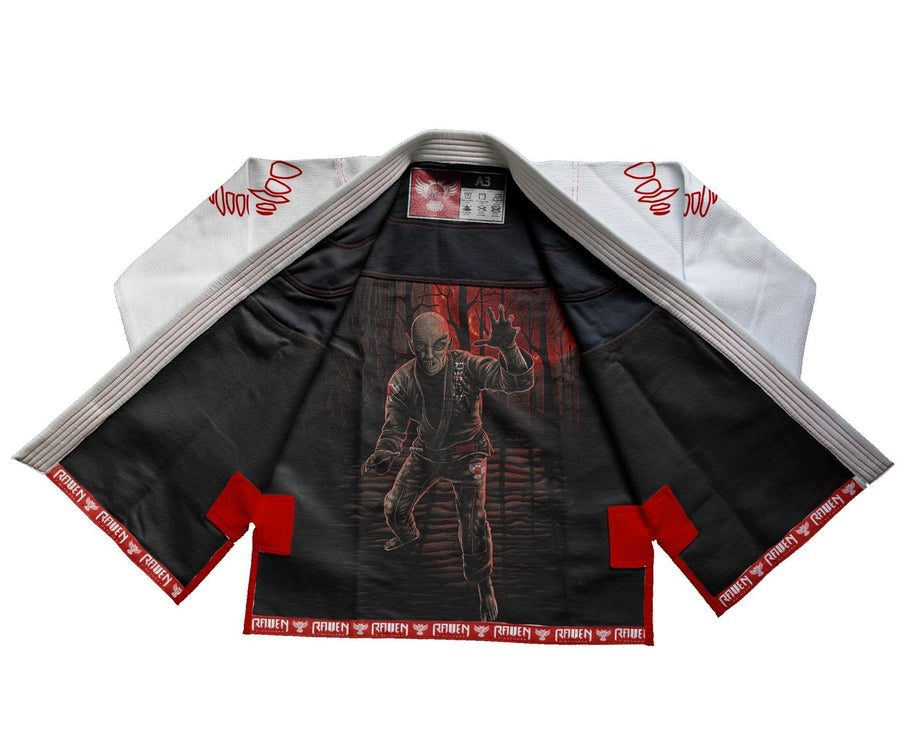 BJJ Horror Nosferatu - White - Raven Fightwear - US