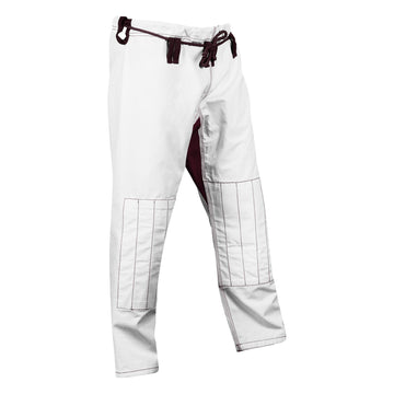 White and maroon ripstop pants - Raven Fightwear - US