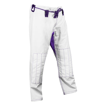 White and purple ripstop pants - Raven Fightwear - US