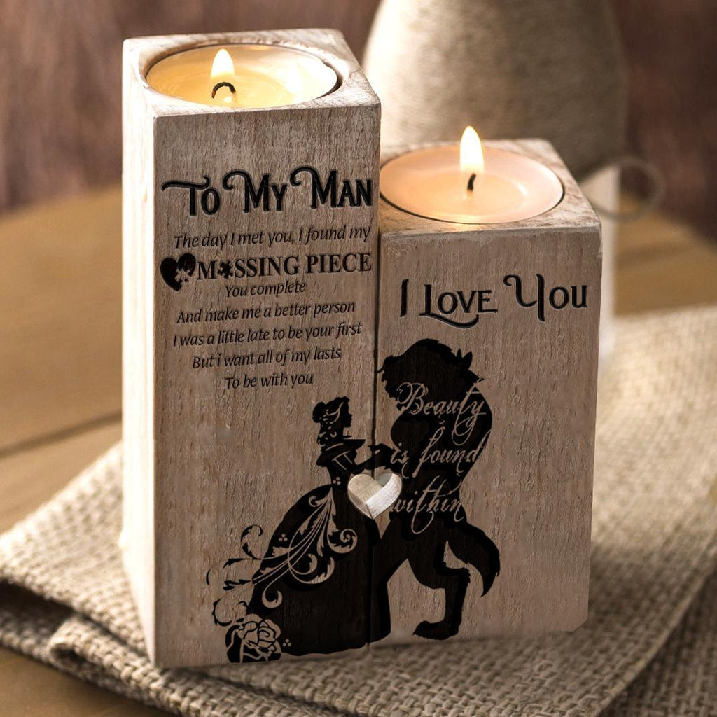 To MyMan Candle Holder