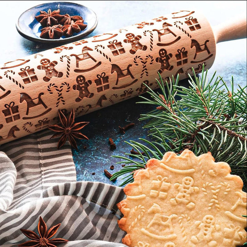 GINGERBREAD, rolling pin
