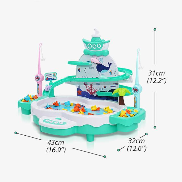 Children electric fishing toys