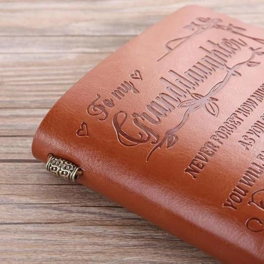 VINTAGE ENGRAVED JOURNAL