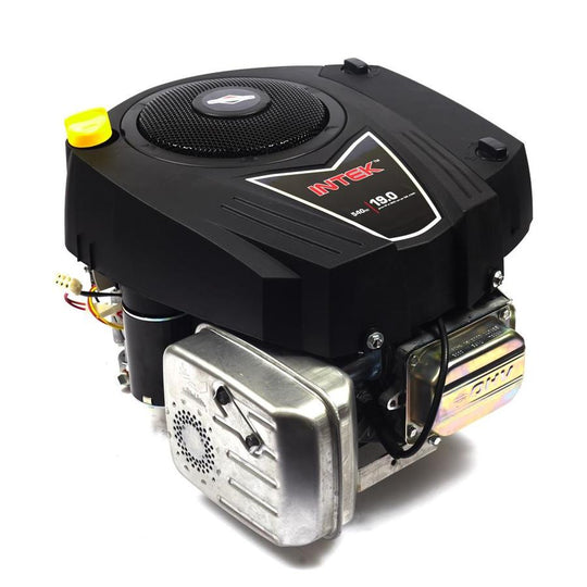 Briggs & Stratton 19HP Vertical Shaft Engine Elect Start Intek I/C-New Equipment-SES Direct Ltd