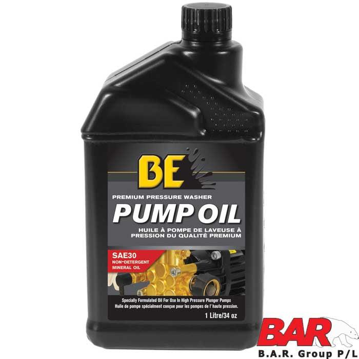 BE Pressure Pump & Air Compressor Oil 1 Litre-Oils-SES Direct Ltd