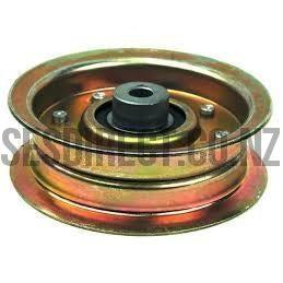 Husqvarna Steel Flat Idler Pulley 532173901-Pulley-SES Direct Ltd