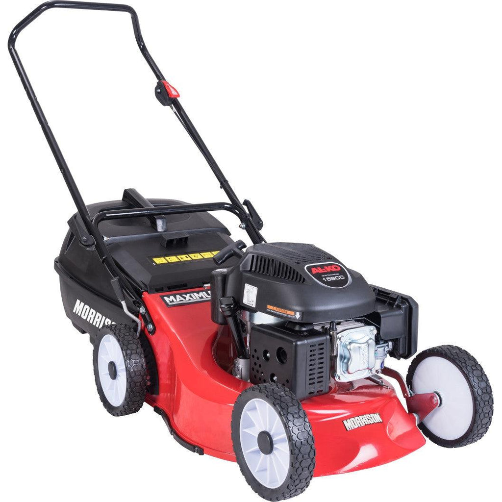 Morrison Maximus S18 Series 159cc Cut, Catch & Mulch-Lawnmower-SES Direct Ltd