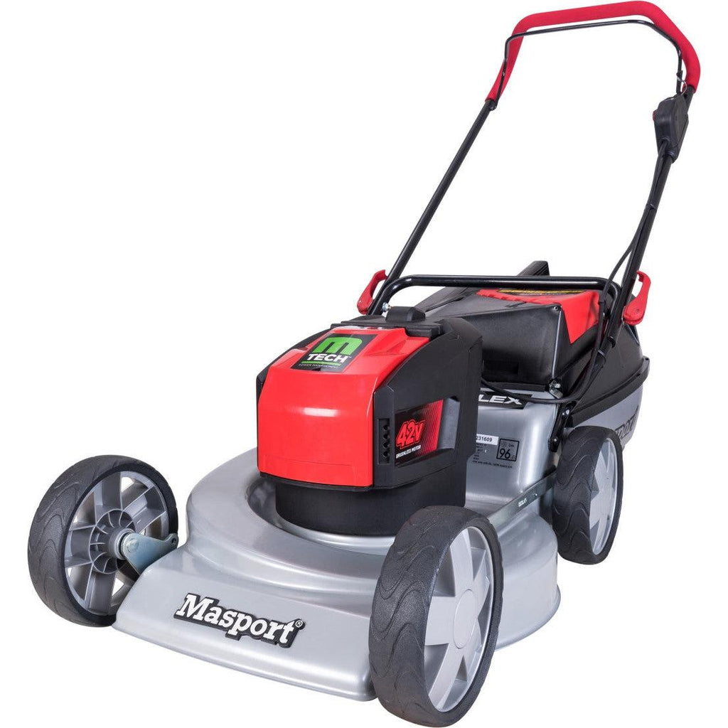 Masport M-Tech 42V Steel S18 Lawnmower-Lawnmower-SES Direct Ltd