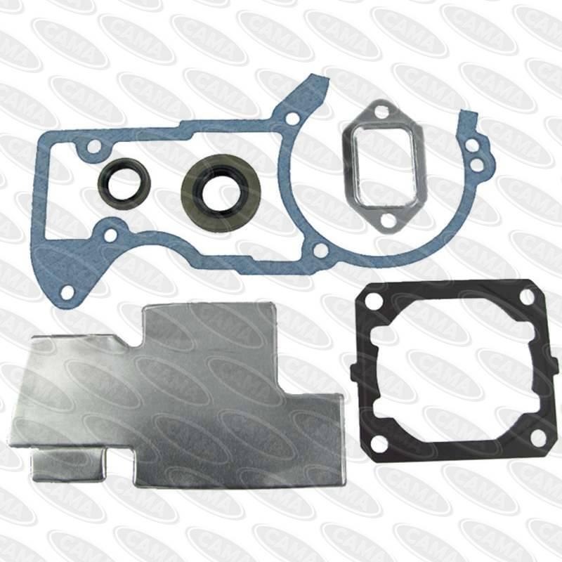 Stihl #1128 029 0502 Gasket Set 046, MS460 (Aftermarket)-Gaskets Sets-SES Direct Ltd