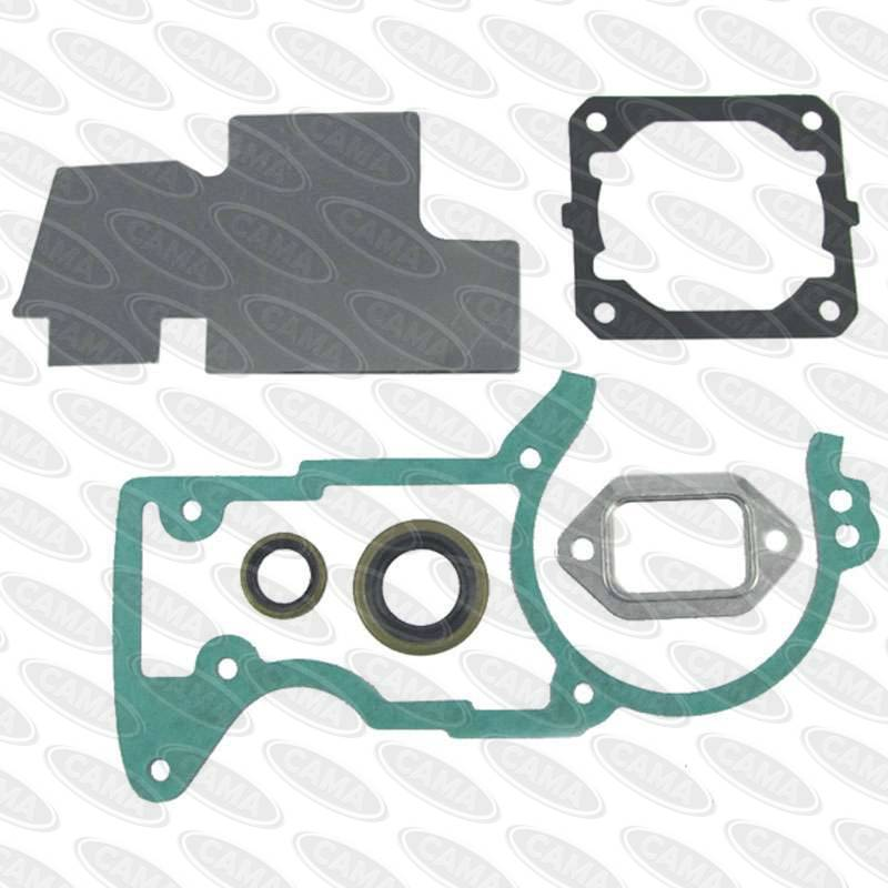 Stihl #1128 007 1050A Gasket Set 044, MS440 (Aftermarket)-Gaskets Sets-SES Direct Ltd