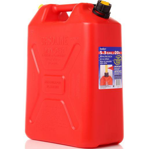 Fuel Can 20 Litre - Tall Red-Fuel Containers-SES Direct Ltd