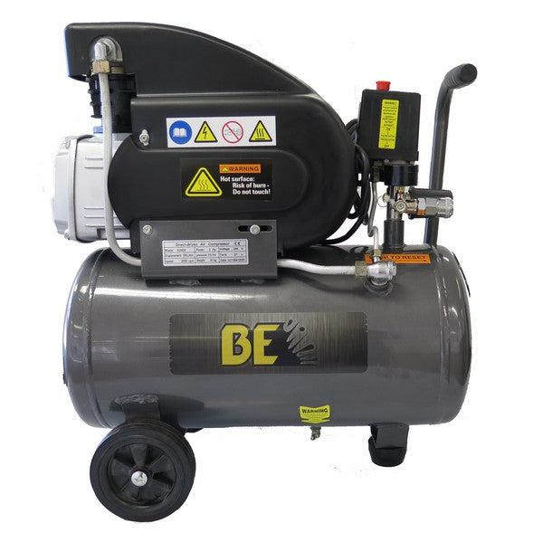 BE E2420 - 2.0HP 24Ltr Single Phase Air Compressor-Air Compressor-SES Direct Ltd