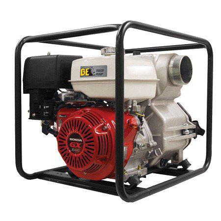 "BE 4"" Honda GX Powered Heavy Duty Trash Pump-Water Pump-SES Direct Ltd"