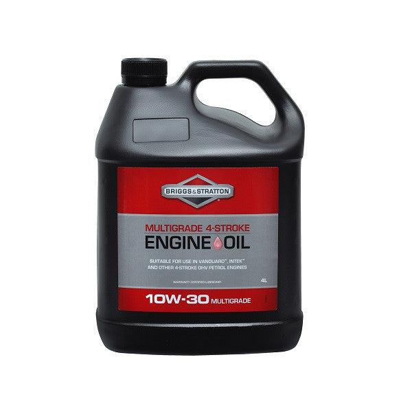Genuine Briggs & Stratton 4 Stroke 4 Litres Multigrade Engine Oil 10w/30 Ha27307a-Engine Oil-SES Direct Ltd