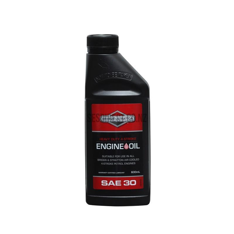 Briggs & Stratton Oil H/Duty SAE30 600Ml-Engine Oil-SES Direct Ltd