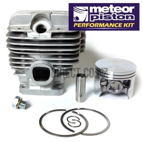 Meteor Stihl 044, MS440 cylinder and piston assembly 50mm - 12mm pin-Cylinder kits-SES Direct Ltd