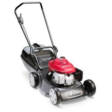 Victa Mustang 19in Mulch & Catch Mower Alloy Honda-New Equipment-SES Direct Ltd