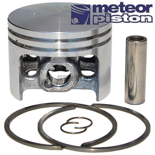 Meteor Piston Assembly (56mm) for Husqvarna 394, Jonsered 2094, 2095 (Replaces 503 46 02-02)-Piston Assembly-SES Direct Ltd