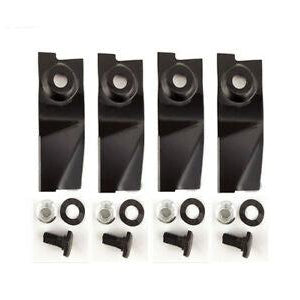 "Masport Blade Kit 19"" cut MSV models Includes 4 x blades & bolt set-Blade-SES Direct Ltd"