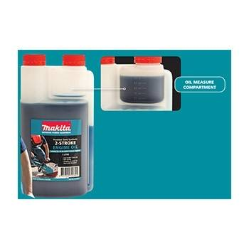 Makita 2 Stroke Oil Semi Synthetic 1lt-Bar & Chain Oil-SES Direct Ltd