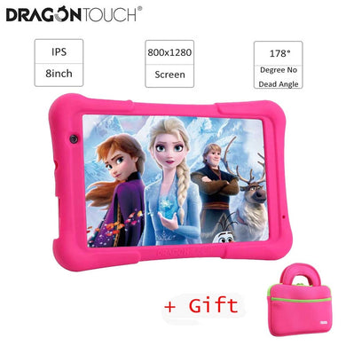 2019 Dragon Touch Y80 Kids Tablet 8 inch HD Display Android Tablet for Children 16GB Quad core 1.5GHz USB Android 8.1 tablet PC|Tablets