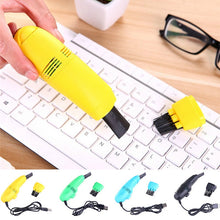 1pc Keyboard Cleaner Mini USB Computer Vacuum cleaner PC Laptop cleaner Brush Dust Cleaning Kit Household Cleaning Tool 6Colors|Computer Cleaners