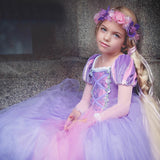 Rapunzel Long Party Dress