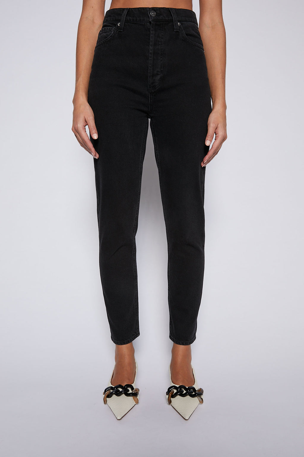 HIGH RISE STRAIGHT CROP JEAN