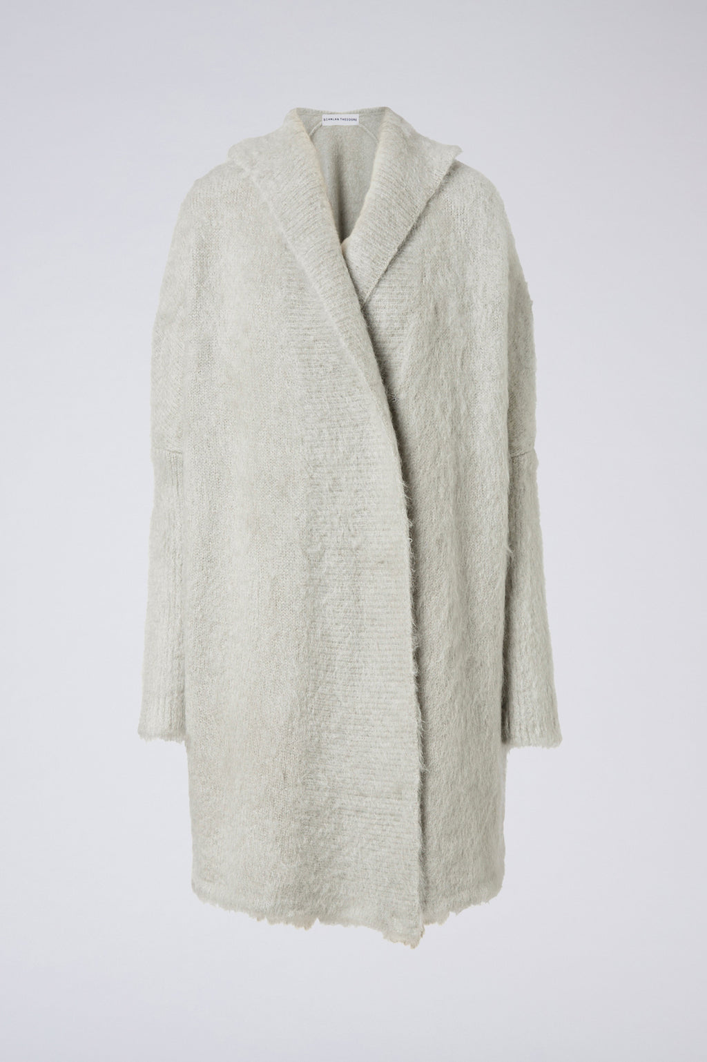 BRUSHED MOHAIR CARDIGAN 3