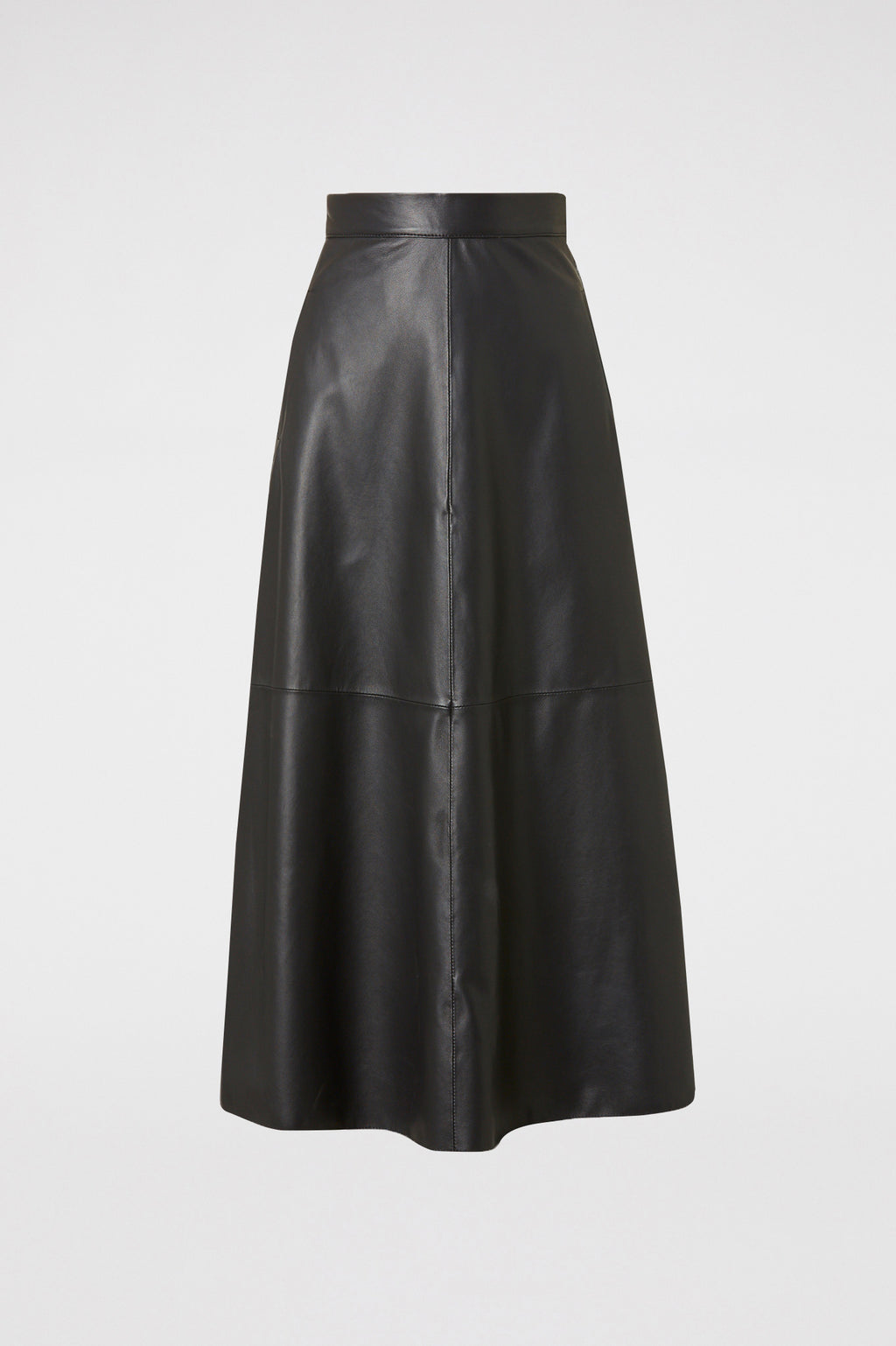 LEATHER LONG SKIRT