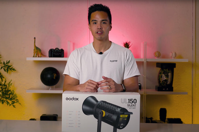Godox UL150 SILENT + FANLESS LED Video Light Unboxing & Review