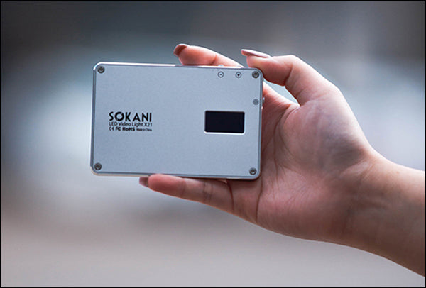 Sokani X21: A Powerful, Small LED Video Light