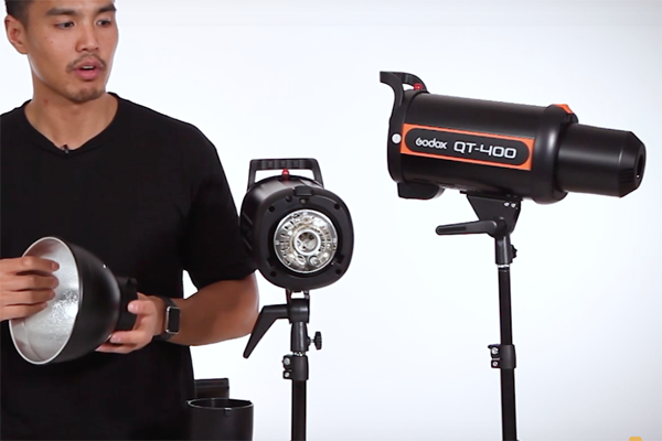 Godox QT400IIM Unboxing and Overview