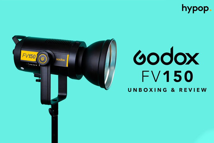 Godox FV150 Hybrid High-Speed Sync LED Studio Light Unboxing & Review