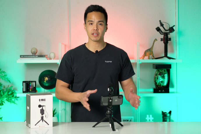 Orangemonkie Q Mic Content Creator Video Microphone Kit Unboxing & Review