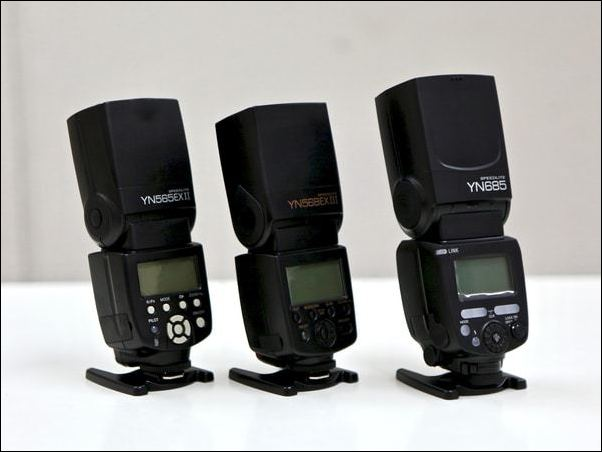 Yongnuo Comparison Guide - Yongnuo Speedlite TTL Flashes