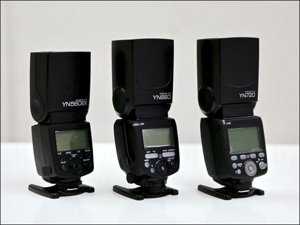 Yongnuo Comparison Guide - Yongnuo Speedlite Manual Flashes