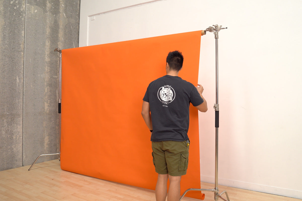 "Pro ""Multi-purpose"" C-Stand Double Heavy Duty Backdrop Studio Setup"