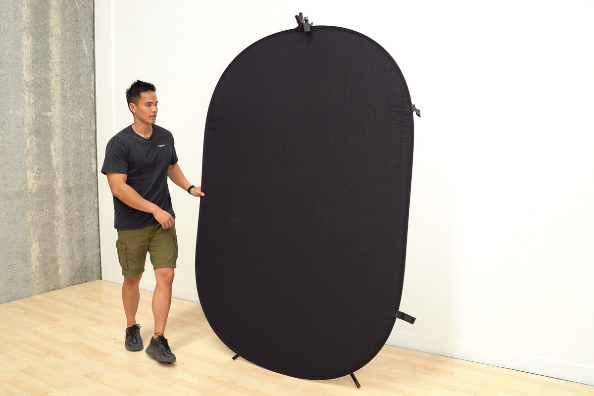 Collapsible Pop-Up backdrop Stand with Peg