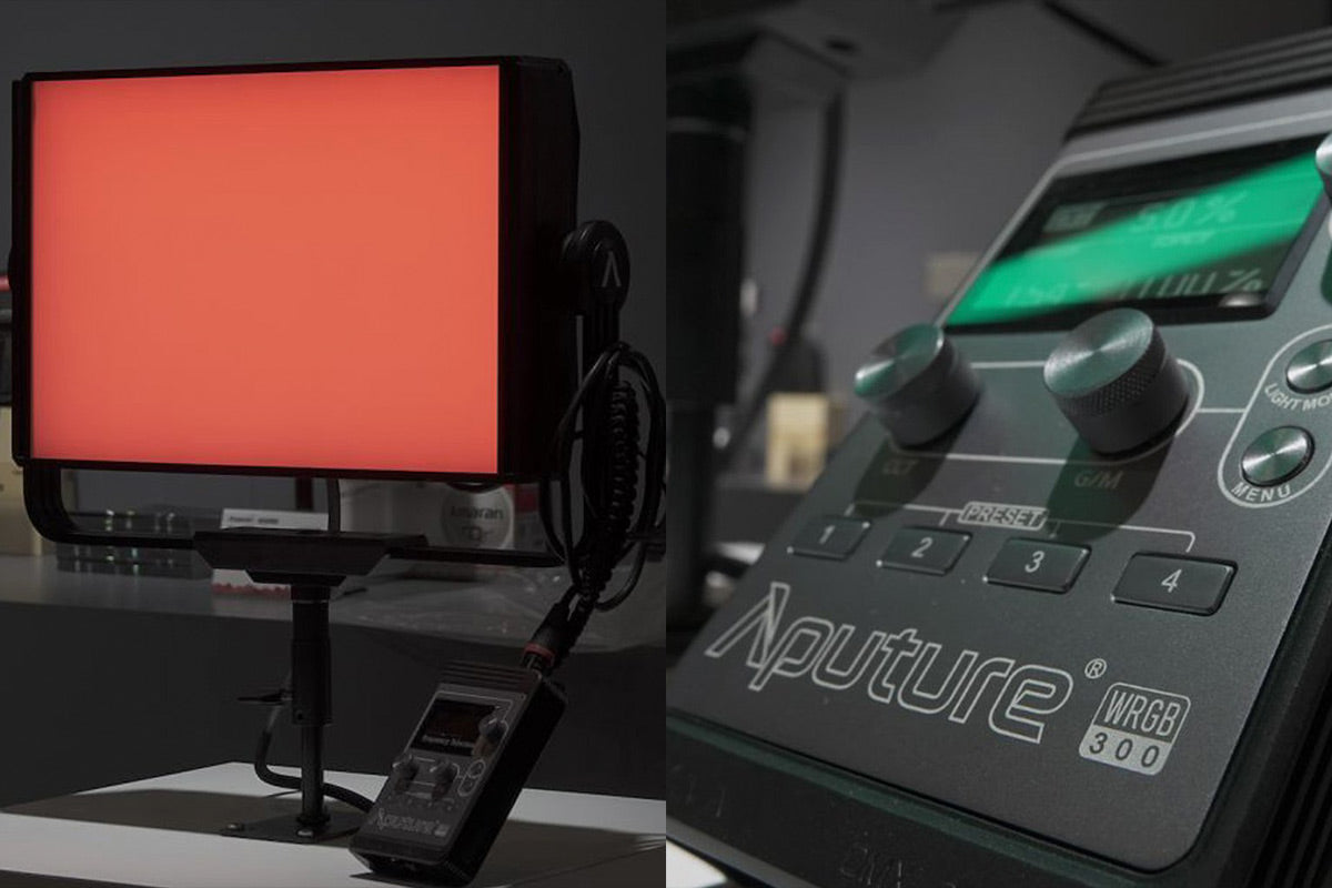 aputure wrgb led light