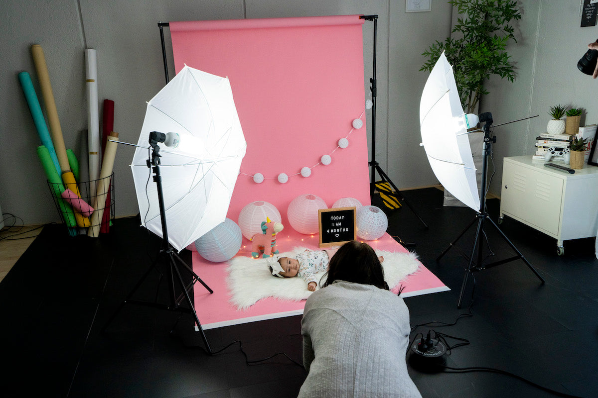 spectrum DIY newborn and baby photography lighting 'Twinkle Kit'