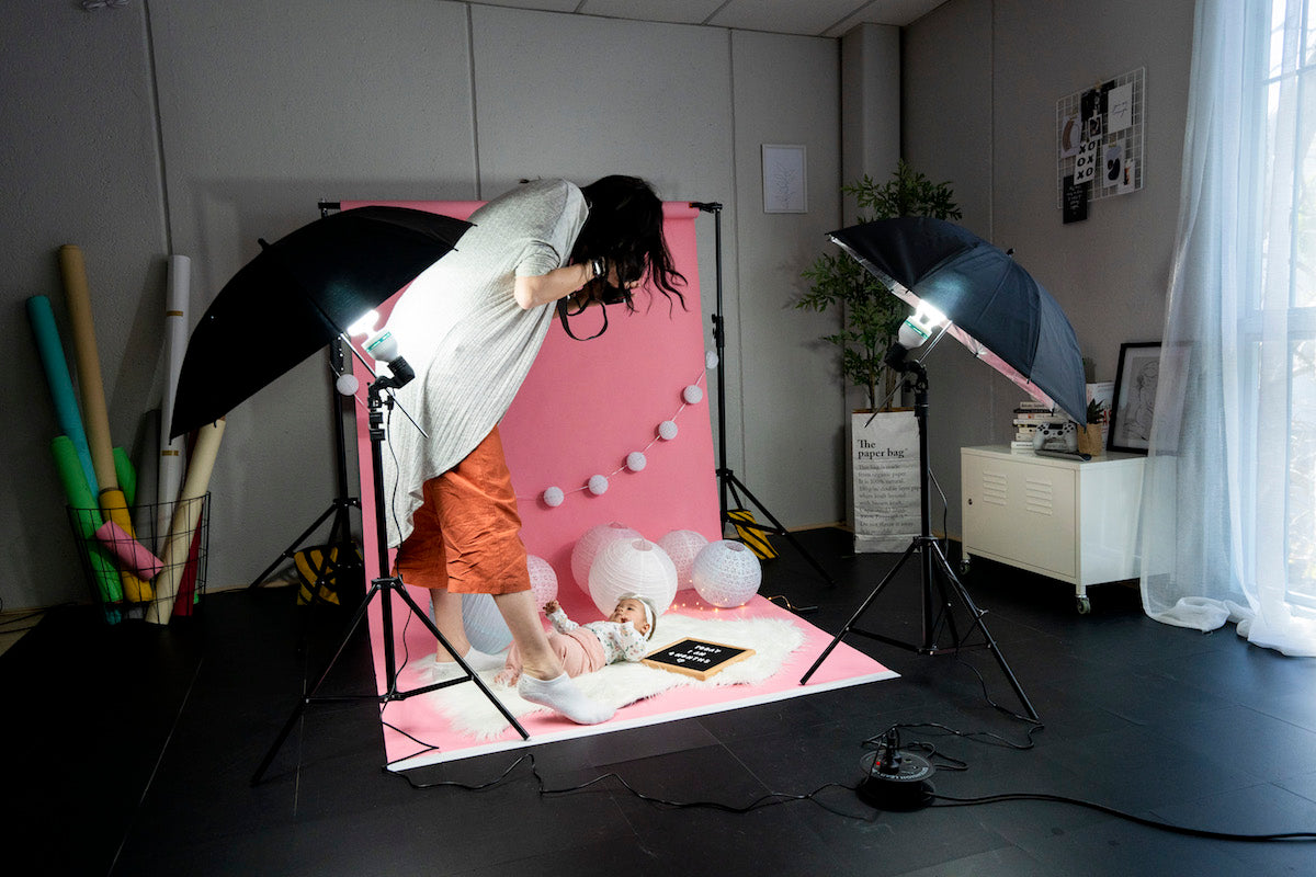 spectrum diy newborn and photography lighting 'twinkle kit'