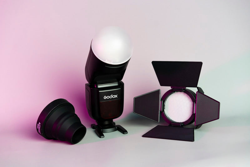 Godox AK-R1 Accessories Kit Speedlite Flash Comparision