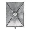WI: 1 x Rectangle Softbox with bulb holder (50x70cm)