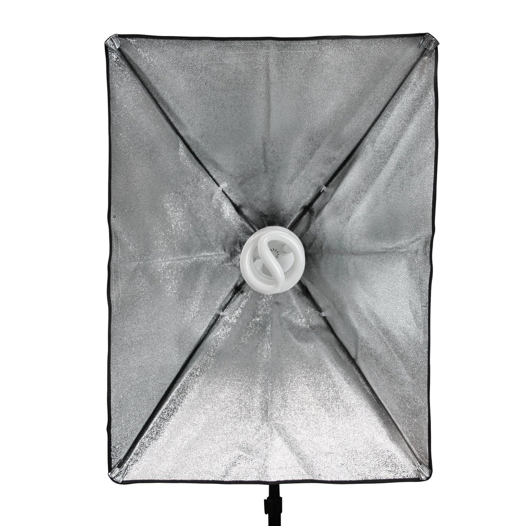 WI: 1 x Rectangle Softbox (50x70cm)