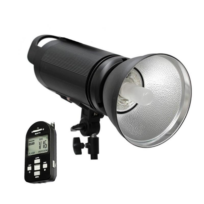 Cononmark 300W Flash Strobe (Bowens) Lighting & Backdrop Kit