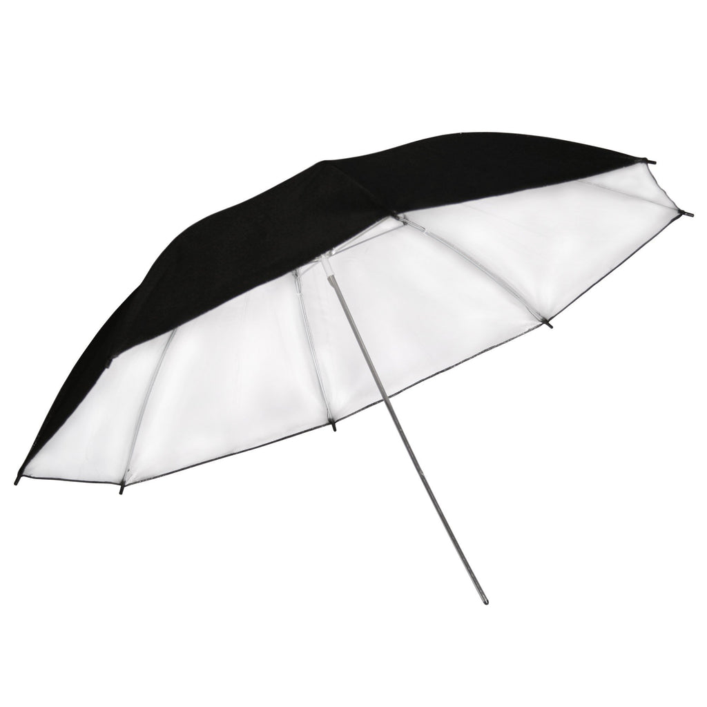 "Hypop Large Black/Silver Reflector Umbrella (40""/101cm) exclude"